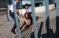 Shock at four-month sentence handed to topless protesters