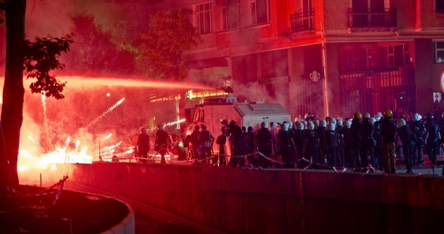 PICS: Turkish police storm Gezi Park with tear gas and water cannons