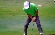 Rory McIlroy takes it out on Nike club at US Open