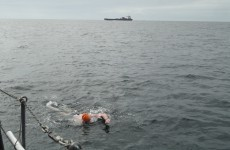 Dublin man becomes oldest to complete the North Channel Swim