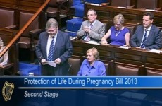 Reilly says he won't be afraid to suspend abortion service as bill introduced in Dáil
