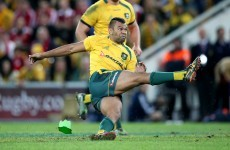 Coach gives Wallabies goalkicking lessons from South Africa… on Skype
