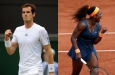Andy Murray has challenged Serena Williams to a match in Las Vegas