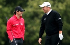 Lowry takes early lead at Carton House, McIlroy struggling
