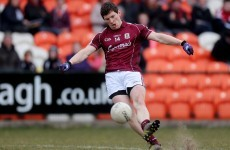 Galway patch side up with 6 changes from Mayo hammering