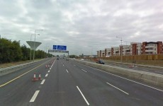 Truck and car collide in accident on M50