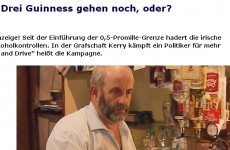 German TV station airs Healy Rae drink-drive segment