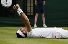 2 of the best Del Potro shots you'll ever see gets him into Wimbledon semis