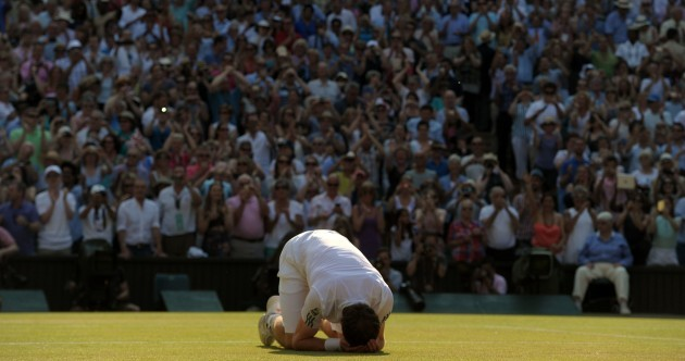 At long last: Murray ends Wimbledon wait with straight sets victory over Djokovic