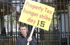 Property tax hunger striker: Meeting with Taoiseach must happen soon