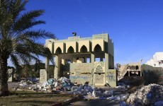 Gaddafi's compound will be turned into an amusement park