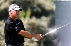 Quadruple bogey halts Clarke charge at The Open but Westwood birdies it up