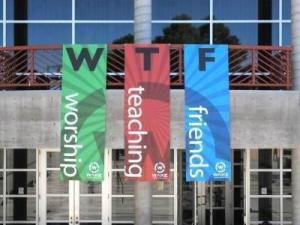 'WTF' Church Sign - Sacrilege or Good Marketing?