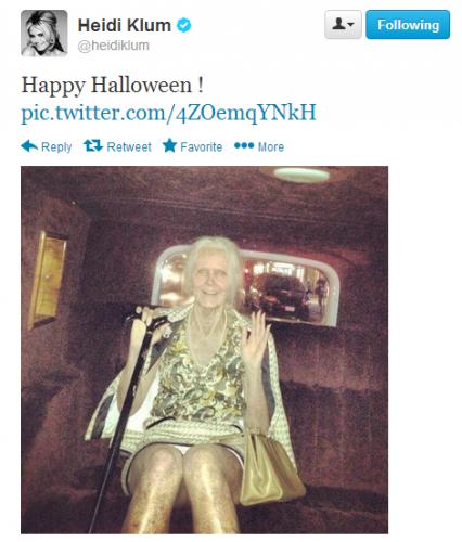 Heidi Klum is the queen of Halloween.