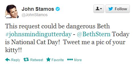 John Stamos you DOG.
