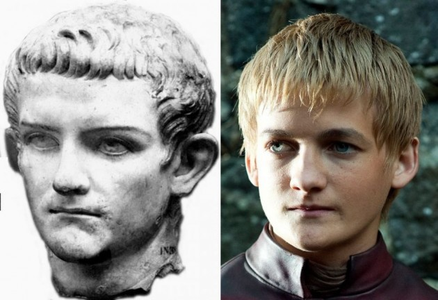 Caligula and Joffrey look alarmingly similar. - Imgur