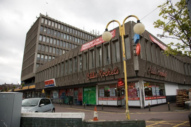 A Really Ugly Shopping Centre