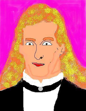 My picture of Michael Bolton in MS Paint - Imgur