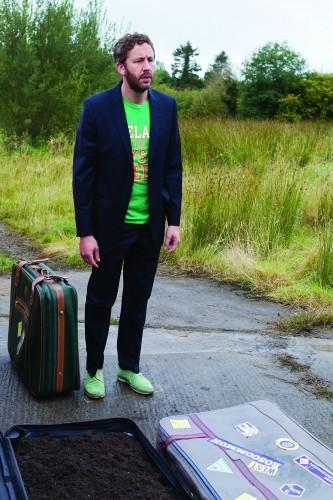 Moone Boy - Series 2.Episode 1..Chris O'Dowd as Sean Murphy..?BabyCow