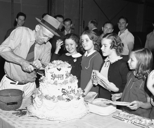 Shirley Temple Los Angeles 1940