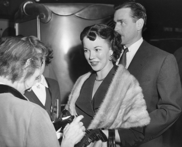 Shirley Temple and Charles Black 1953