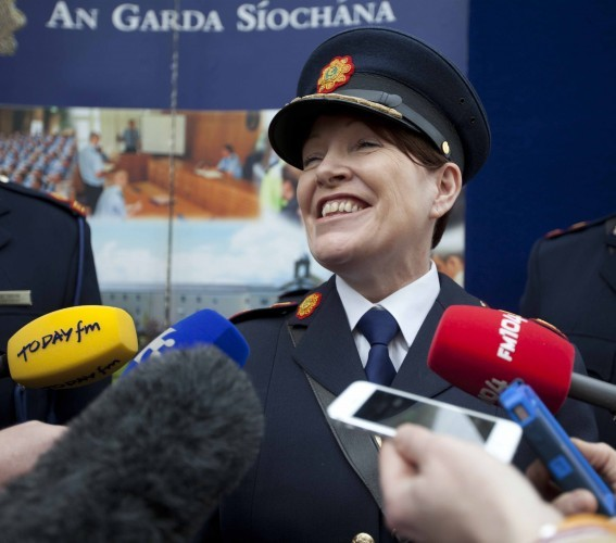 A New Face For The Garda. Garda Commissi