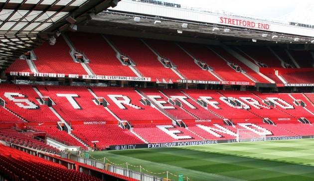Soccer - Chosen One Banner Banner Removed - Old Trafford
