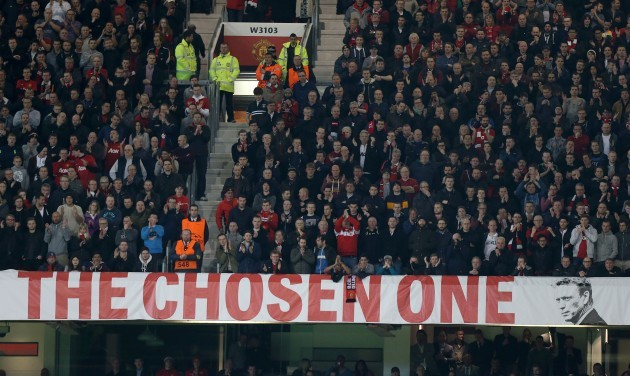 Soccer - The Chosen One Banner File Photo