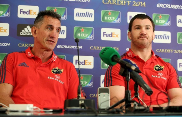 Rob Penney and Damien Varley