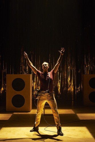 Barry John O'Connor as Orsino in Abbey Theatre's new production of Twelfth Night by William Shakespeare  Pic  Ros Kavanagh