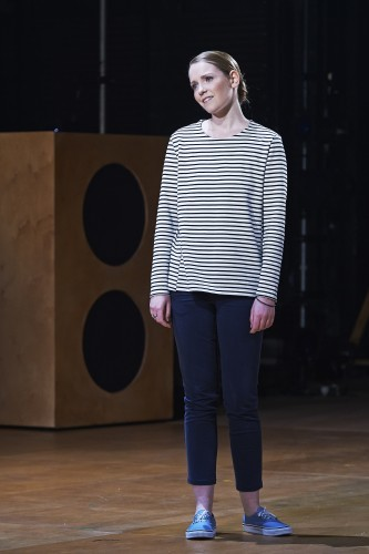 Sophie Robinson as Viola in Abbey Theatre's new production of Twelfth Night by William Shakespeare Pic  Ros Kavanagh
