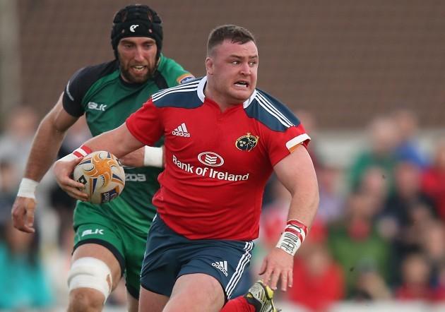 Dave Kilcoyne chased by John Muldoon