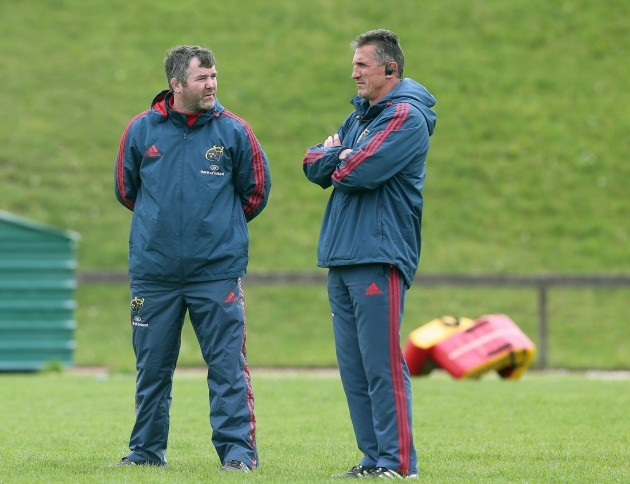 Anthony Foley and Rob Penney
