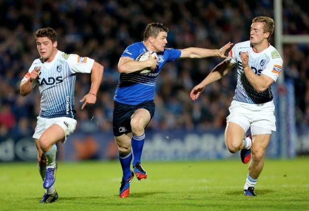 Brian O'Driscoll and Owen Williams