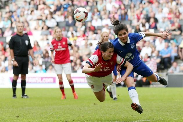 Soccer - FA Womens Cup - Final - Everton v Arsenal - Stadium:MK