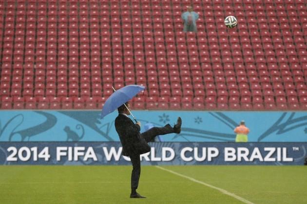 Brazil Soccer WCup US Germany