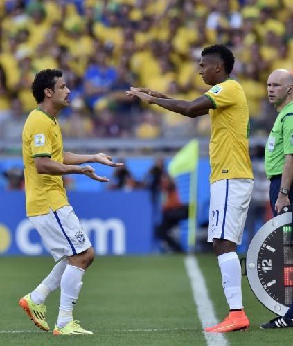 Brazil Soccer WCup Brazil Chile