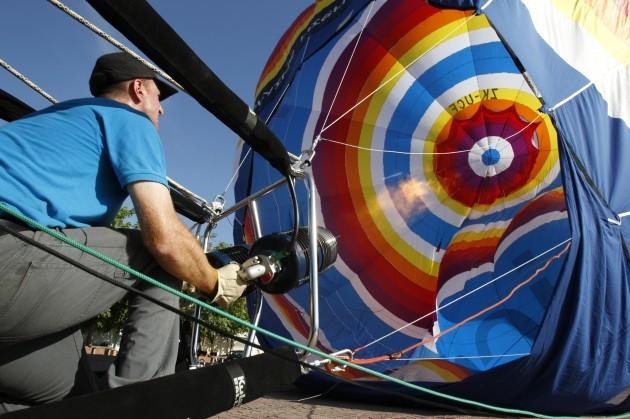 Cambodia Hot Air Balloon
