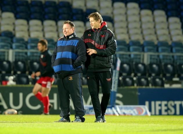 Matt O'Connor with Simon Easterby