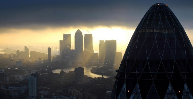 Financial services jobs on the rise