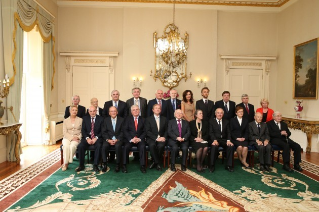 Council of State Meeting in Aras an Uach