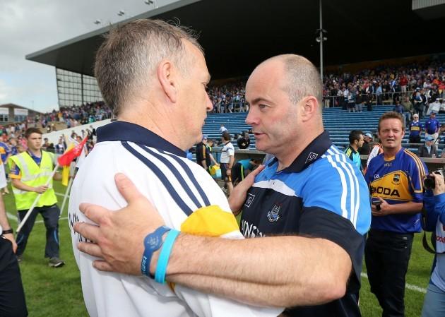 Eamonn O'Shea and Anthony Daly