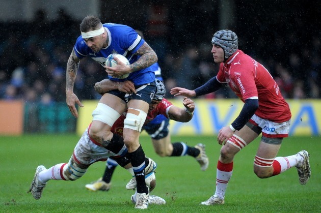 Rugby Union - Amlin Challenge Cup - Pool Four - Bath Rugby v Agen - Recreation Ground