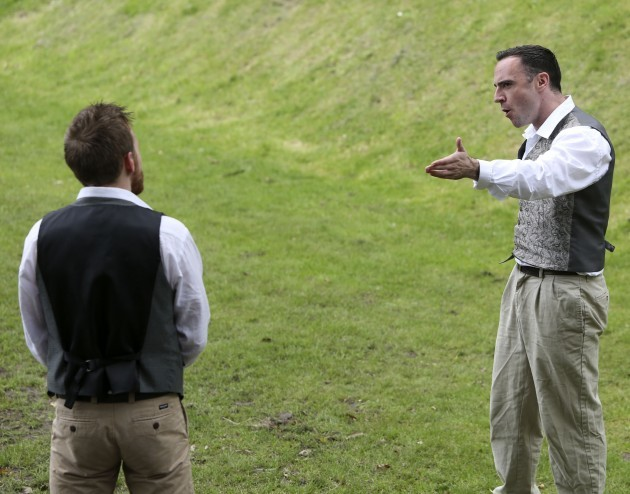 Shakespeare In Iveagh Gardens. Picture