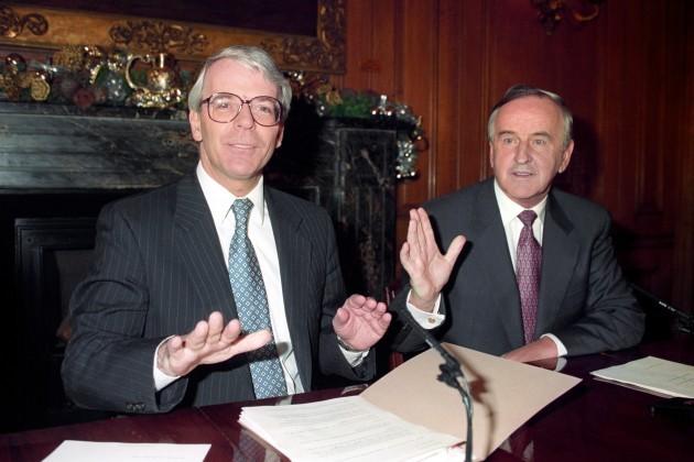 JOHN MAJOR & ALBERT REYNOLDS
