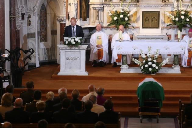 25-08-2014 Funeral mass for former Taoiseach Alber