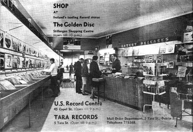 Golden Discs Stillorgan SC 1960 something
