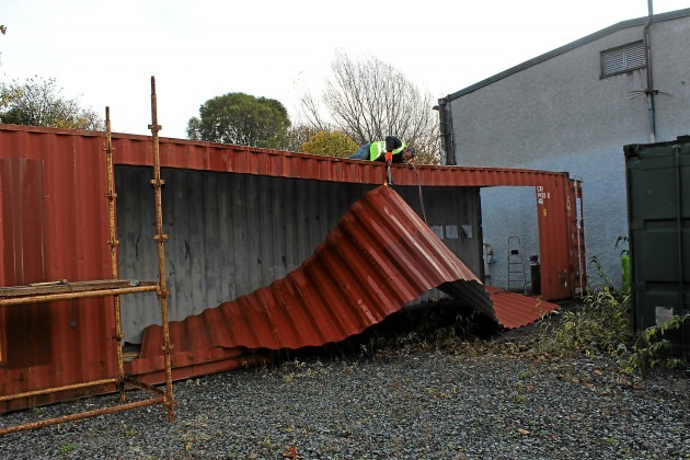 Building A Barn From Shipping Containers Joy Studio