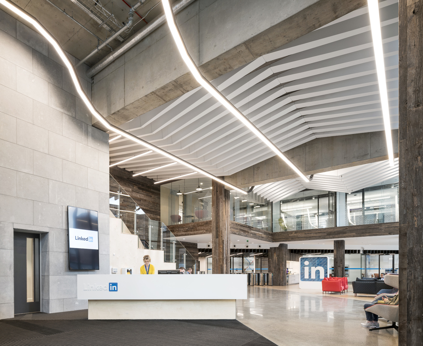 Take a guided tour of linkedin 39 s purpose built dublin office after months under wraps fora - Squarespace dublin office ...