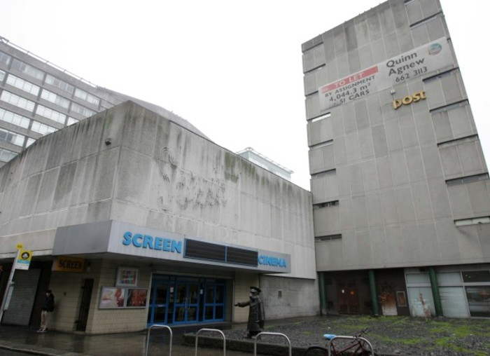 File Photo DUBLIN'S ICONIC SCREEN cinema is to close a union representative has claimed. A director of IMC Cinemas, who own the cinema, confirmed to TheJournal.ie that the Hawkins Street cinema would close on 29 February.